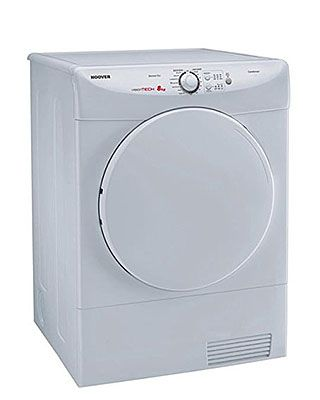 Good deal! This brand new condenser tumble dryer has a large drum and features sensor drying and energy saving reverse action. Finished in pure white with 10 years parts, 1 year labour warranty. Ideal for a family.