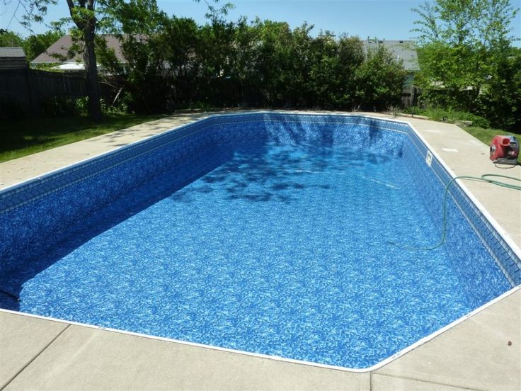 Sensational swimming pool liners with blue aqua color for Liner piscine turquoise