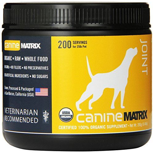 Canine Matrix Joint Matrix -- You can find more details by visiting the image link.Note:It is affiliate link to Amazon.