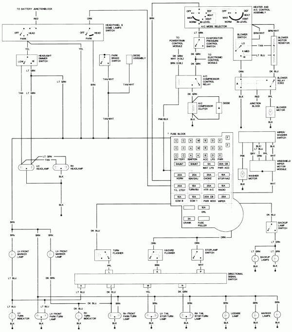 17 1985 Chevy Truck Tail Light Wiring Diagram Truck Diagram Wiringg Net Wiring Diagram Diagram Electrical Wiring Diagram