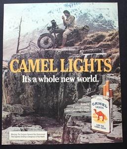 The Camel Man: Vintage Motor Bike Safari