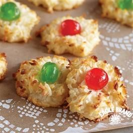 Festive Coconut Macaroons from Eagle Brand® Sweetened Condensed Milk