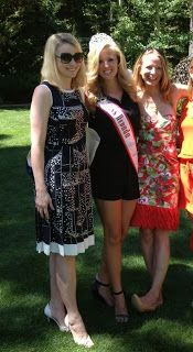 "National American Miss Nevada Jr. Teen Paris Regan meets Marissa Mayer, CEO of Yahoo, at ""Keep Tahoe Blue"" Fundraiser"