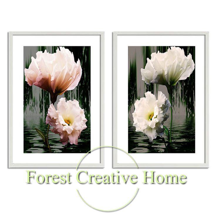 Современный минималистский эстетическое нарциссы декоративная роспись фото творческий дом декоративные дизайн печать настенная живопись