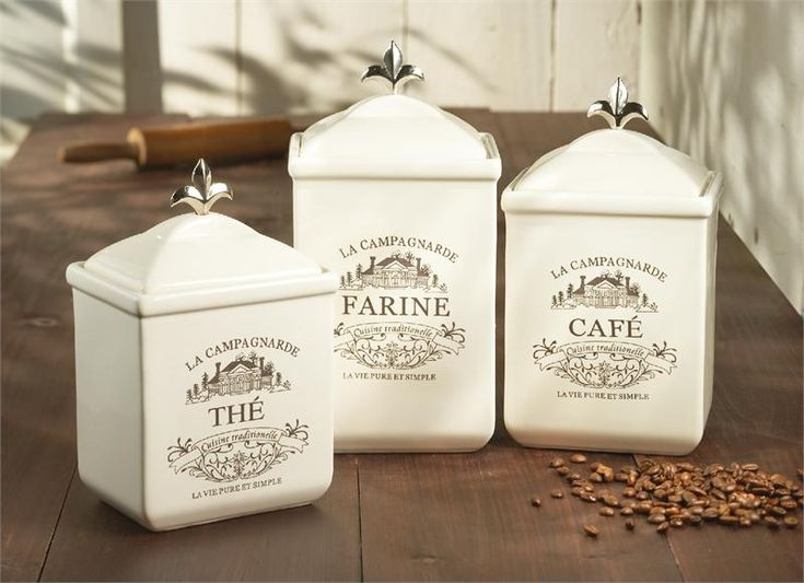 Found It At Wayfair   3 Piece Maison Canister Set