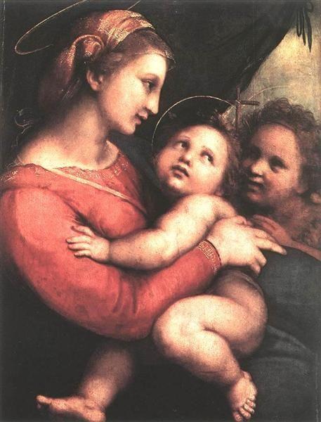 Madonna della Tenda - Raphael