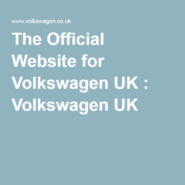 The Official Website for Volkswagen UK : http://www.volkswagen.co.uk/