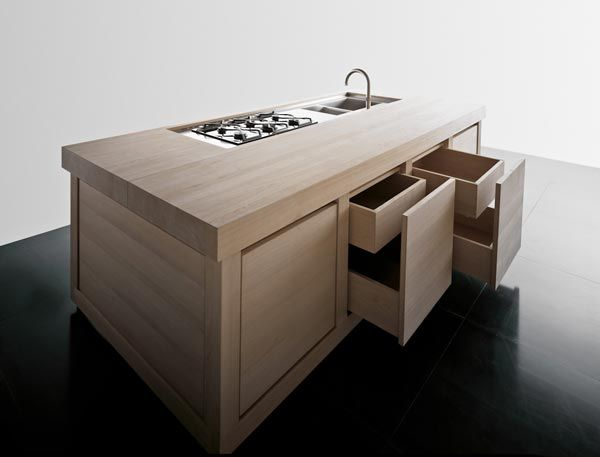 contemporary-wooden-kitchen-cabinets-for-an-urban-home- Interior Design and Furniture trends for cooking areas