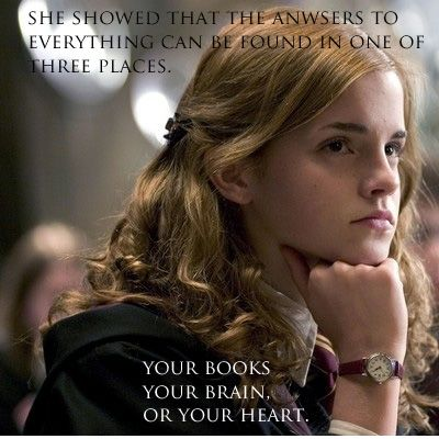 "Hermione Granger in Harry Potter (Emma Watson) ~ ""She showed that the"