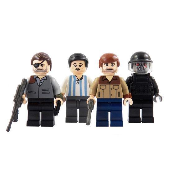 Les chasseurs de zombies : Série 1 Collection par miniBIGS sur Etsy