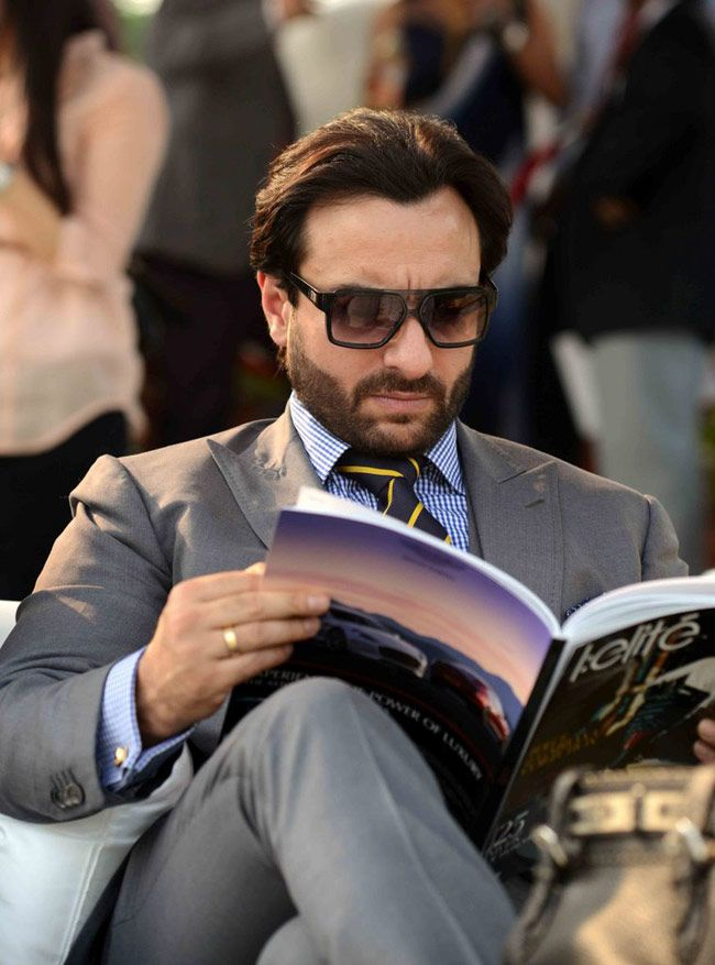 Saif Ali Khan at Bhopal Pataudi Polo Cup-2014.