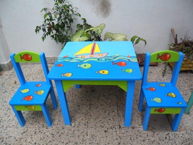 78 best ideas sobre sillas pintadas en pinterest muebles for Medidas sillas ninos