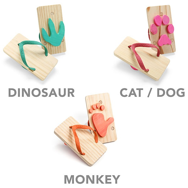d1b640e5d7a6 Make footprints with these kiddo flip flops. I wonder if I could make  these