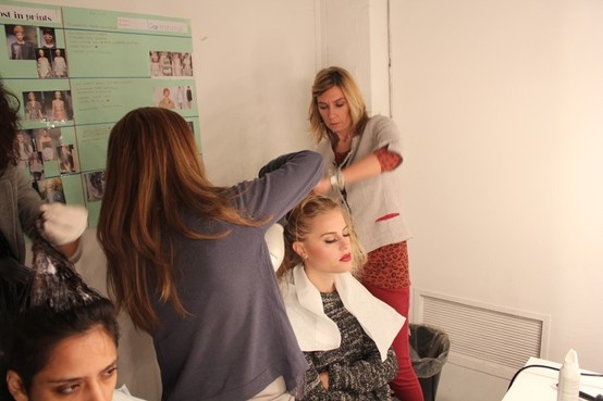 HAIR PERFORMANCE 2013 - Backstage