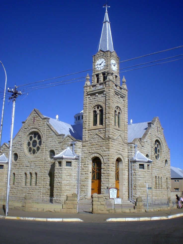 Burgersdorp kerk Soutj Africa