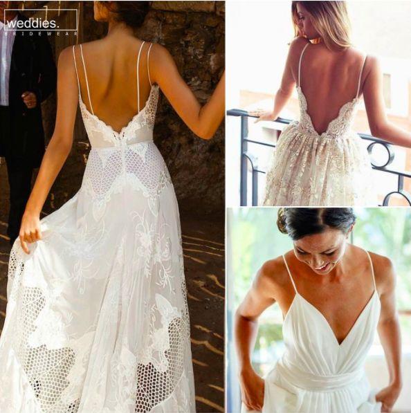 Yaz düğünlerinin planlanmaya başlamasıyla gelinlik tercihleri yapılıyorken, bu haftaki önerimiz ip askılı, zarif, hafif gelinlikler ❤️ Since the plannings for the summer weddings have already started, our weekly suggestion would be elegant, light dresses with straps ❤️