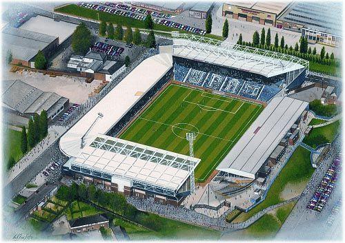 The Hawthorns(West Bromwich Albion) @ sportsstadiaart.com