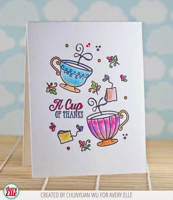 209 best Thank You images on Pinterest Clear stamps, Homemade - time card
