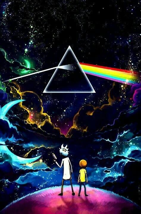 Pin By Mag Neat O Man On Pink Floyd | Rick, Morty, Rick I Morty, Pink Floyd  Dark Side