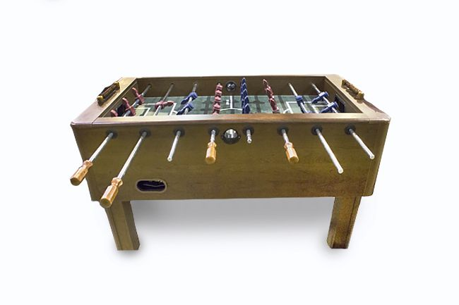 Harvard Wooden Foosball Table