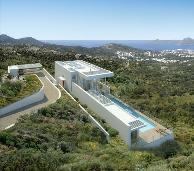 If It's Hip, It's Here: Richard Meier Does Modern Architecture In Turkey. The Bodrum Houses.