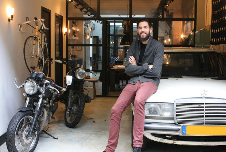 Amsterdam designer James van der Velden has a knack for giving something a second life. In 2012 he bought an old auto repair shop that was bei...