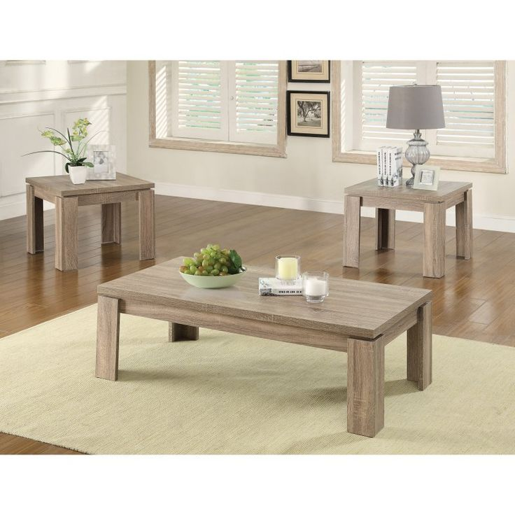 Coaster Furniture 3 Piece Modern Coffee Table Set   701646 Part 77