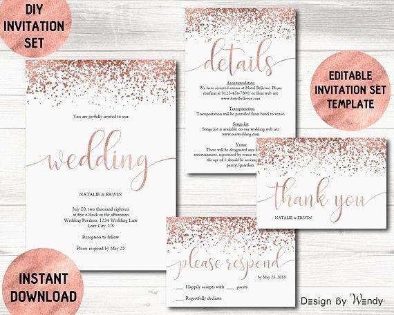 Diy Wedding Invitations Ideas Beautiful Simple Wedding Invitations Lovely Pinterest Weddi Kartu Pernikahan Contoh Undangan Pernikahan Undangan Pernikahan Cetak