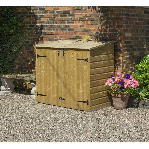 You'll love the Wooden Double Bin Store at Wayfair.co.uk - Great Deals on all Outdoor products with Free Shipping on most stuff, even the big stuff.