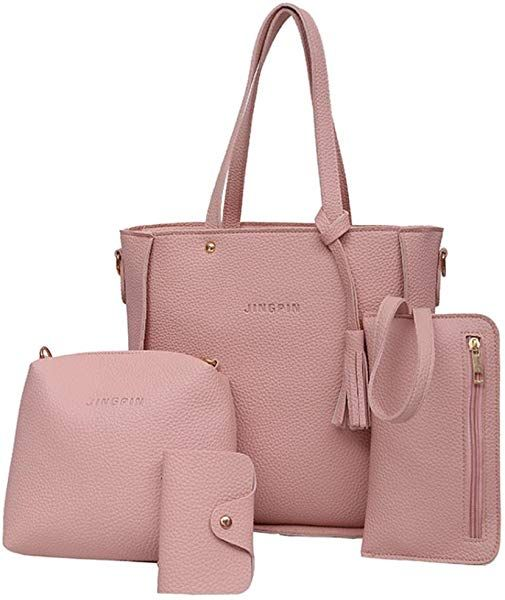 6a5713607cbd27 Damen tasche sale, Frashing Damen Handtaschen Henkeltasche Crossbody Tasche  Vintage PU Leder (1 Große
