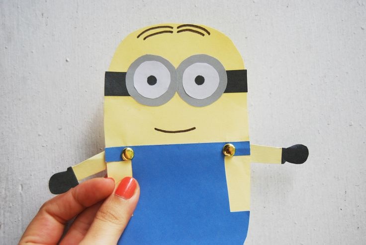 Minion Template Printable | ... how popular the it is! I guess it's because of the minion craze