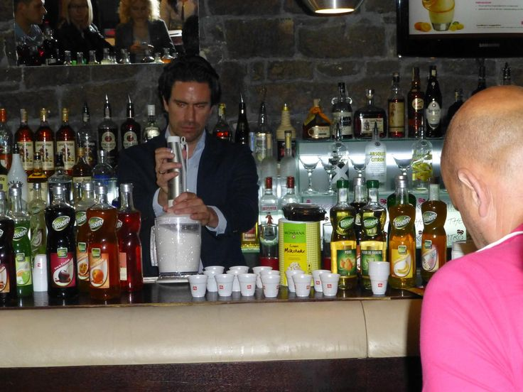 Tasting and Professional Range workshop at the Teatro Bar in Prague, Czech Republic