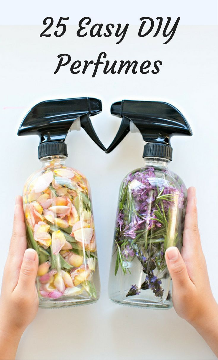 How To Make Perfume: 25 Easy DIYs