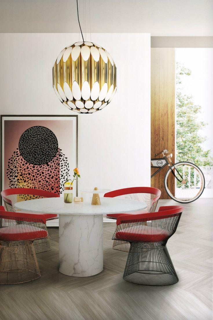 Esszimmerstühle Modernes Design Schwarz ~ Lieblings moderne Esstische  Rund und weiss Marmortisch mit moderne