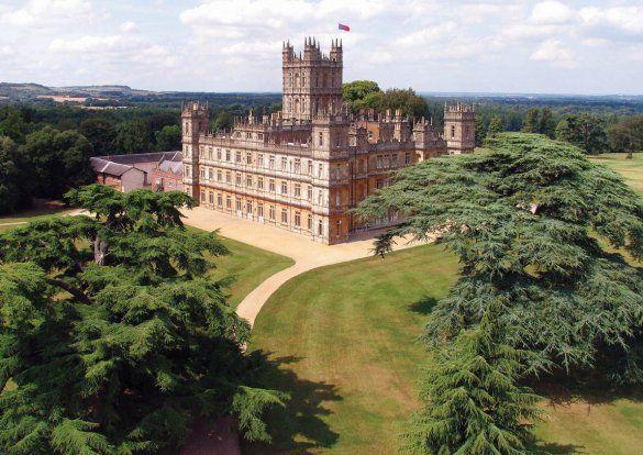 downton abbey house - Google Search