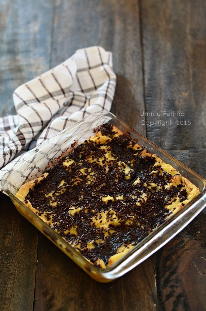 Simply Cooking and Baking...: Puding Roti Tabur Meses