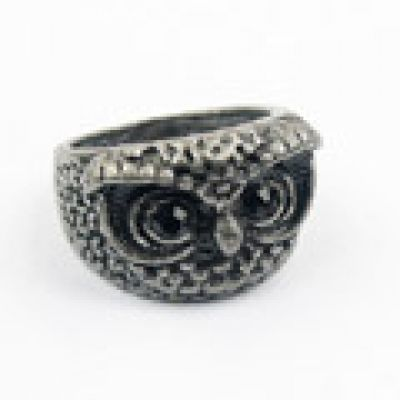 Fashion Retro Owl Ring Antique Silver. Small and catchy. REPIN if you like it.😍 Only 14.5 IDR