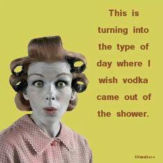 Vodka shower