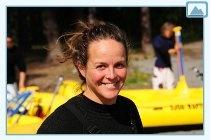 Franzi at Sjoa Rafting