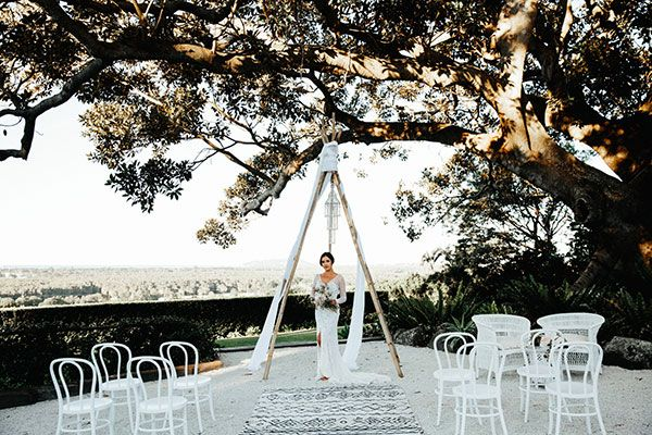 Beach Wedding Wanderlust from Byron Bay #beachwedding #rosequartz #coastalwedding #australianwedding
