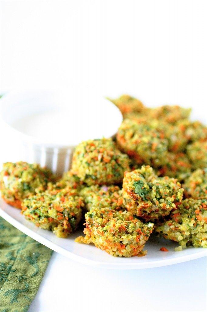 Cheese and Vegetable Quinoa Bites: Health Food, Perfect Fingers, Veggies Quinoa, Quinoa Ball, Quinoa Bites, Healthy Eating, Veggies Bites, Healthy Fingers Food, Vegetables Quinoa