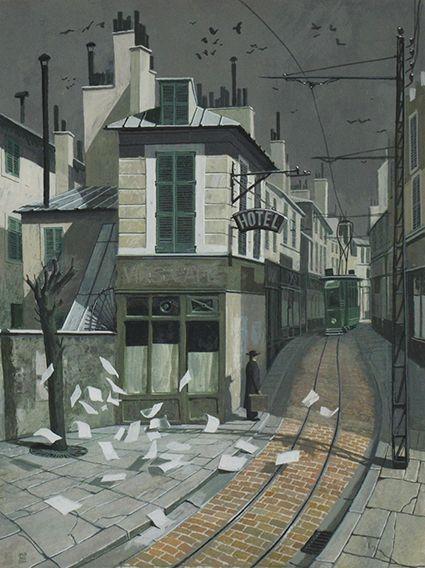 James McNaught Contemporary Scottish Artist | Billcliffe Gallery