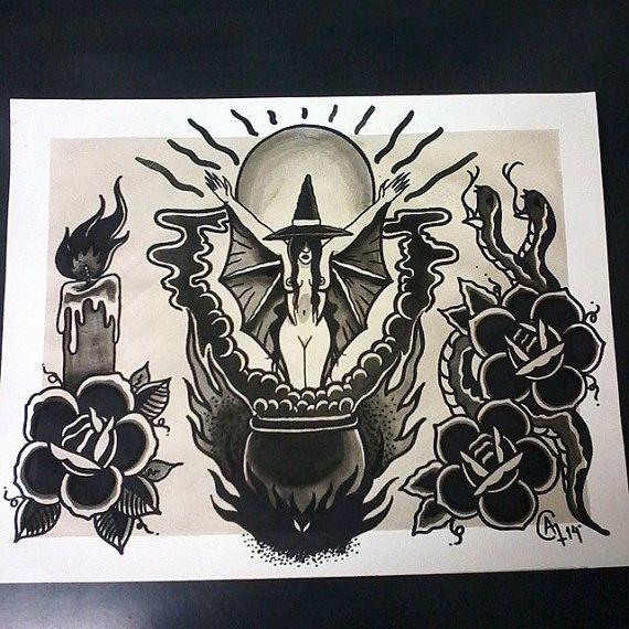 Best 25 Witch Tattoo Ideas On Pinterest Rune Symbols Runes And Stick N Poke Tattoo