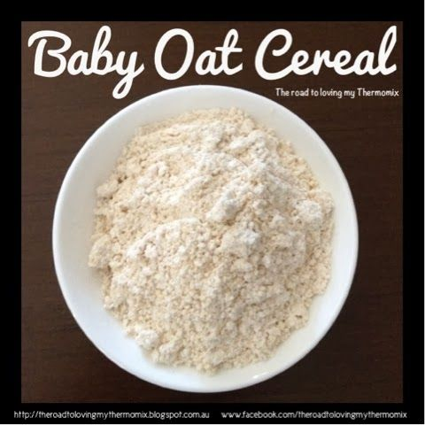 Oats are a great first food for babies for those who are going down the purée and cereal route like me.   It's as simple as blitzing 150g oats on speed
