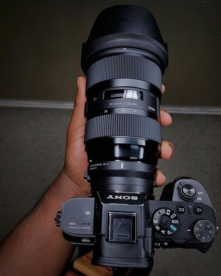 What will you shoot with this lovely combo? Sony A7RII  Sigma 24-35 f/2.0 | Photo by @canonjon