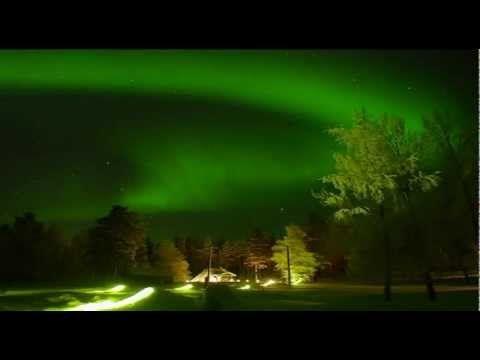 Northern lights in Lapland - Aurora borealis: scientific facts from Sodankylä Finland revontulet