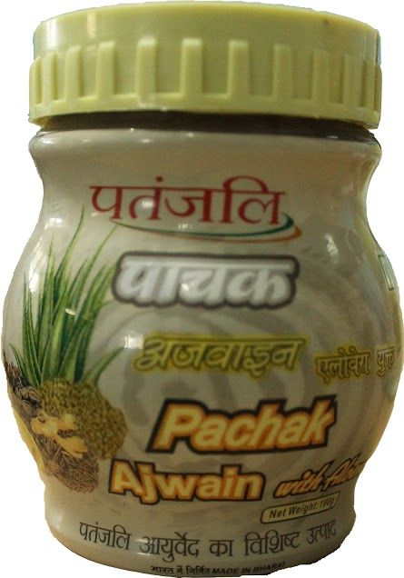 #pachak_ajwain_with_aloevera product of patanjali