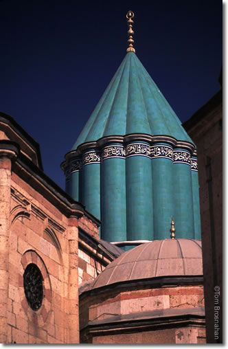 Mevlana Museum Dome, Konya, Turkey