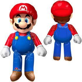 """Mario Brothers 60"""" Airwalker Balloon"""