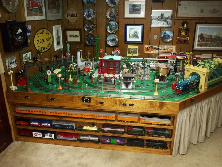 standard gauge train layouts   Welcome to a Combined Standard Gauge & O-Gauge Layout!
